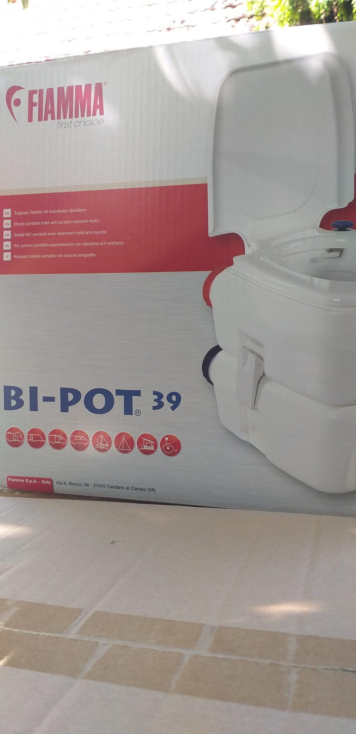 Toaleta portabila fiamma BI POT 39